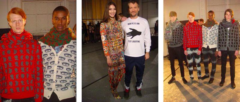 6. Libertine fall 2013 backstage 1 by The Fashion Informer:Lauren David Peden