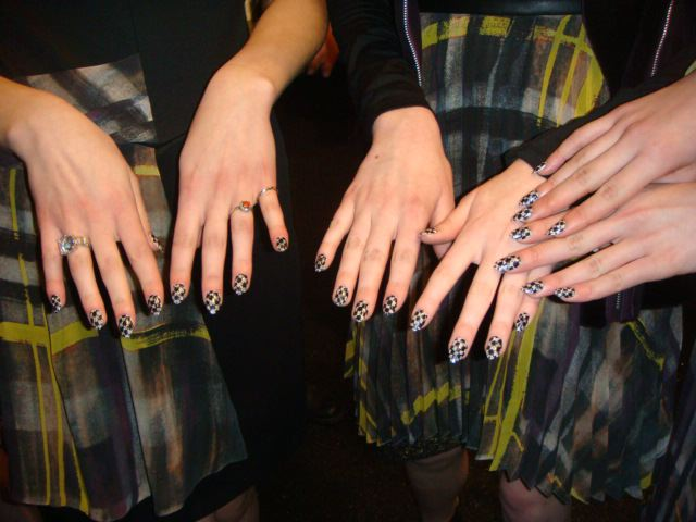 12. Emerson fall 2013 manicure by The Fashion Informer:Lauren David Peden