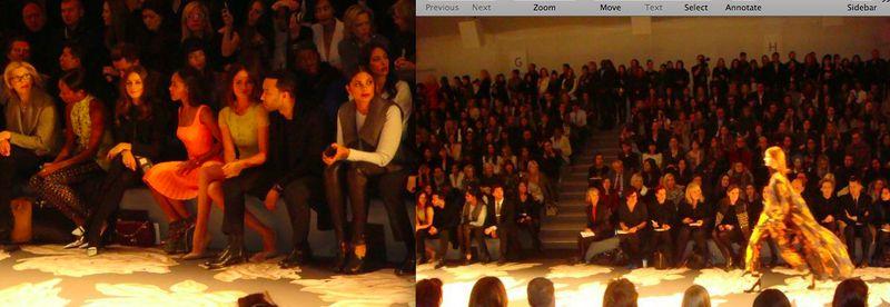 2. Vera Wang fall 2013 celebrities:runway by The Fashion Informer:Lauren David Peden
