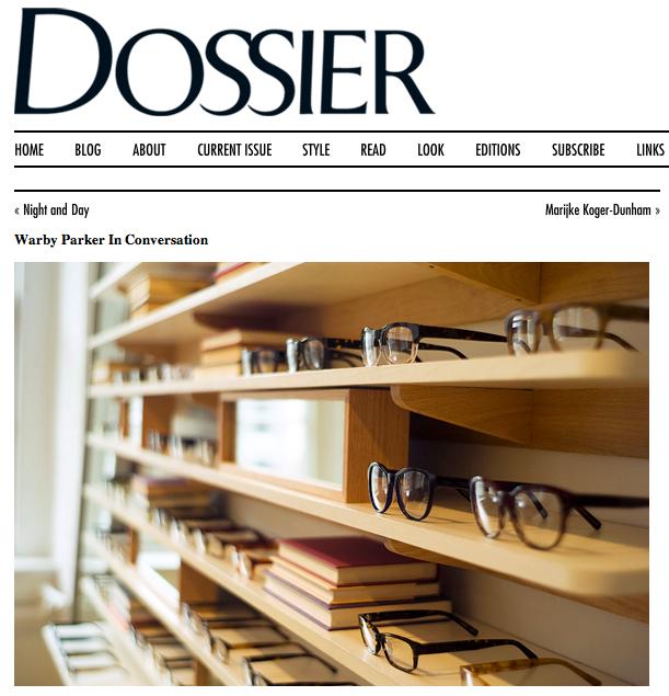 Dossier- Warby Parker