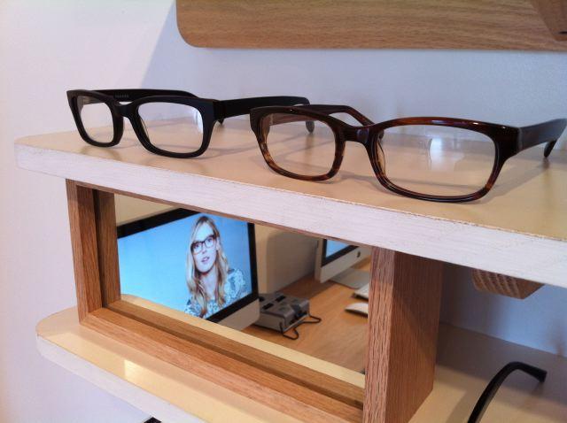 Warby Parker showroom by Lauren David Peden:The Fashion Informer