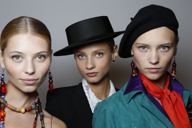 1. Ralph Lauren Collection Spring 2013 - Beauty 17