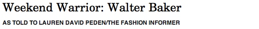 The Fashion Informer on Rue La La- Walter Baker Weekend Warrior