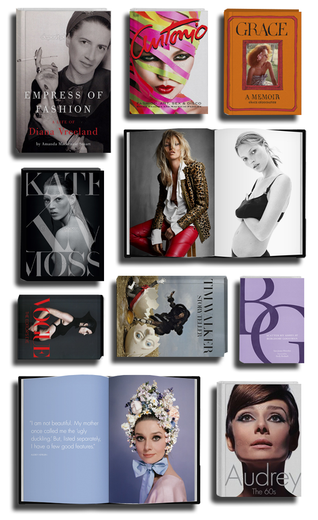 Holiday_books2012.2 on The Fashion Informer:graphic by K Sarna