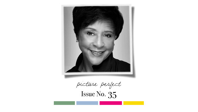 Sheila Johnson Introducing on The Fashion Informer:graphic by K Sarna 1