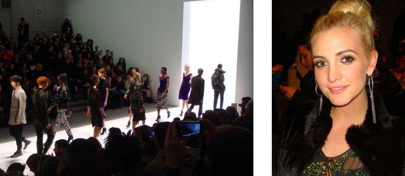 2. Richard Chai fall 2013 and Ashlee Simpson on The Fashion Informer:Lauren David Peden