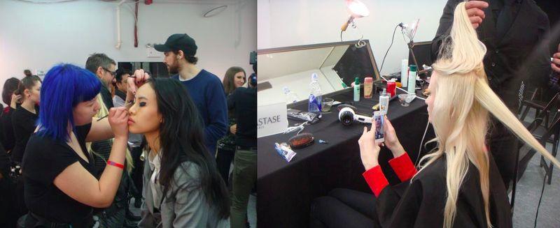 5. Libertine beauty backstage fall 2013 show by The Fashion Informer:Lauren David Peden