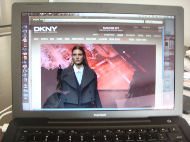 2. DKNY livestream on The Fashion Informer:Lauren David Peden