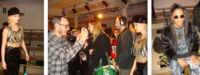 11. Jeremy Scott fall 2013 front row, Leigh Lezark, Terry Richardson, Big Sean by The Fashion Informer:Lauren David Peden