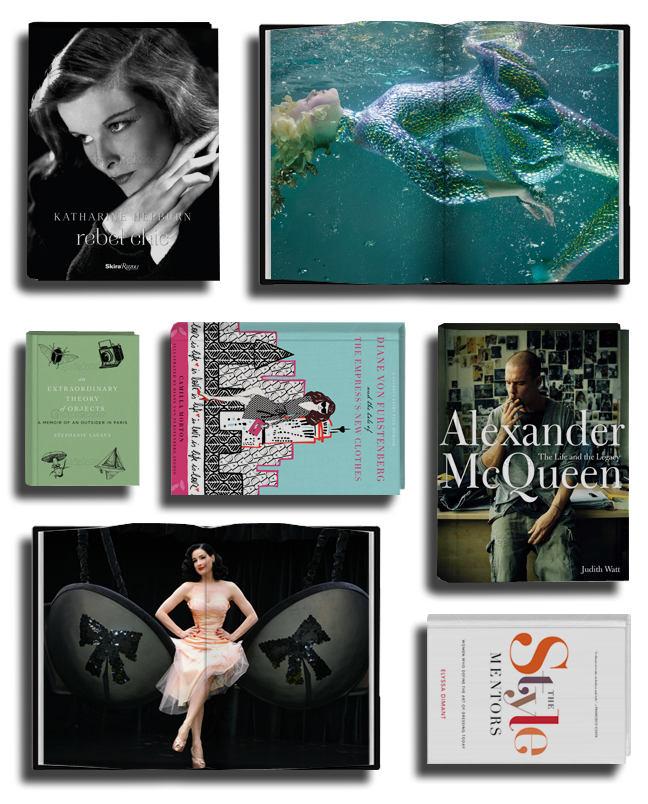 Holiday_books 2012 on The Fashion Informer:graphic by K Sarna