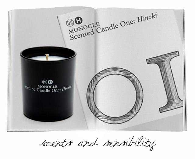Informed Obsession- Monocle Candle on The Fashion Informer:graphic by K Sarna