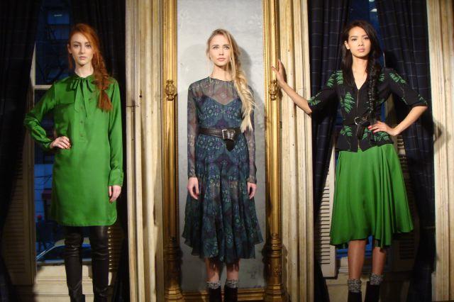1. Veronica Beard fall 2013 presentation on The Fashion Informer by Lauren David Peden