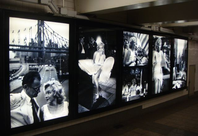 1. Marilyn Monroe in NYC:Penn Station by The Fashion Informer:Lauren David Peden