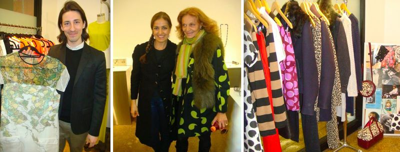 6a. CFDA Incubator fall 2013 preview:Daniel Vosovic, Emanuela Duca, Diane von Furstenberg, WHIT by The Fashion Informer:Lauren David Peden