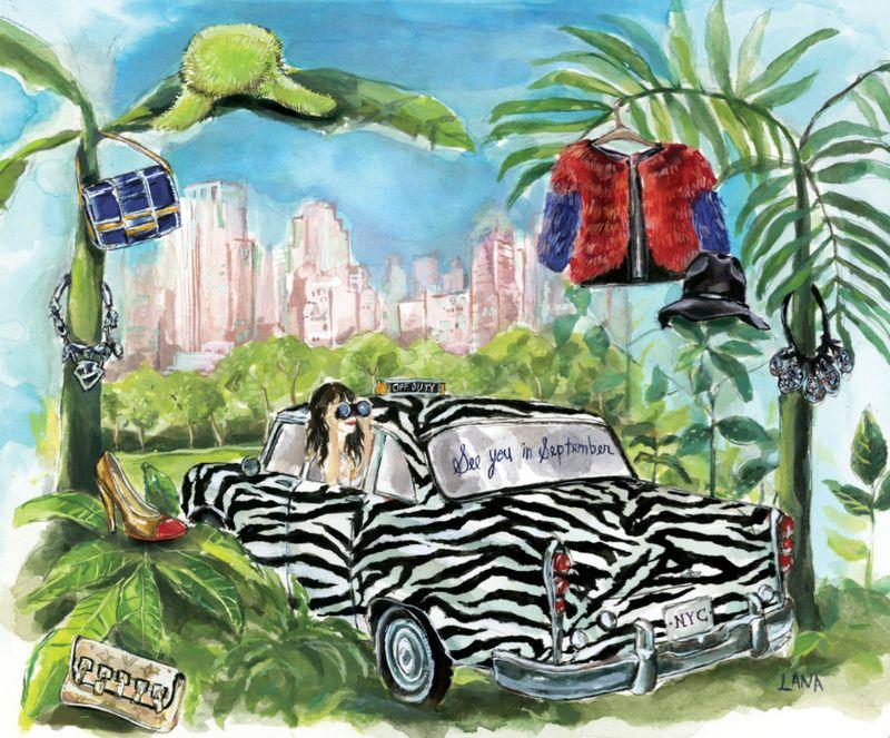 The Fashion Informer:Lauren David Peden on Safari by Lana Frankel