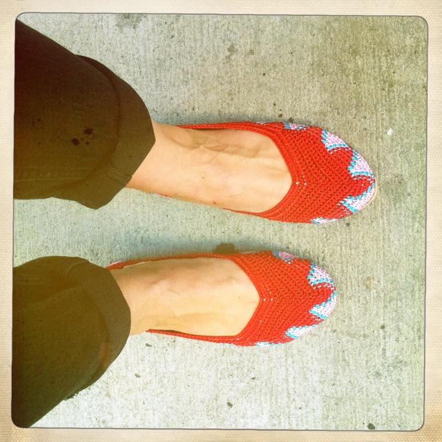 9. Painted Bird shoes by Lauren David Peden:The Fashion Informer