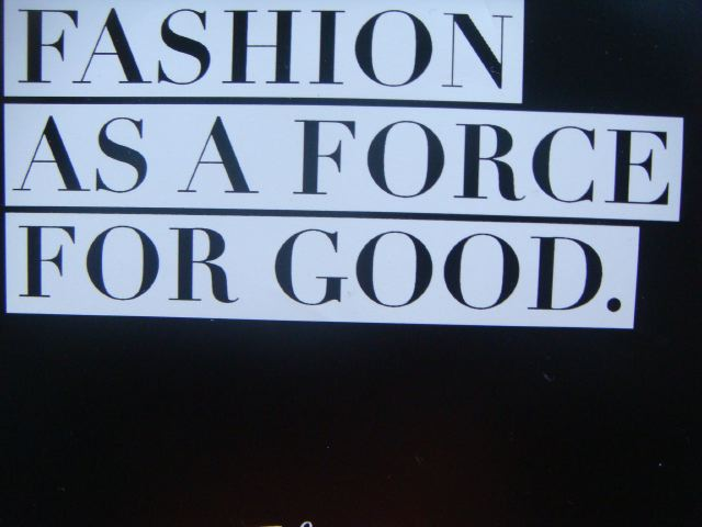 11. Fashion as a Force For Good on The Fashion Informer