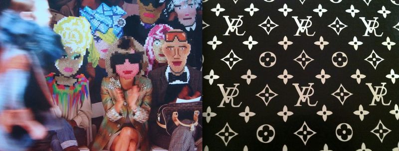 1. Robert Verdi postcard and RV box by Lauren David Peden:The Fashion Informer