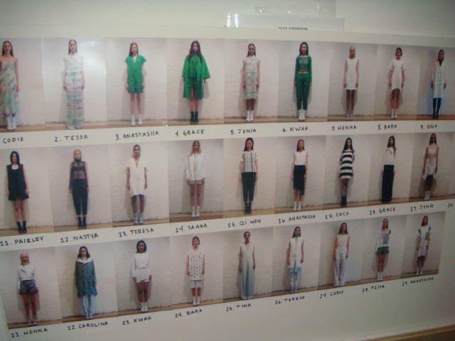 3. Tess Giberson spring 2014 run of show by Lauren David Peden:The Fashion Informer