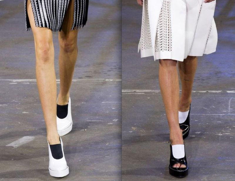 Alexander Wang spring 2014 shoes on The Fashion Informer