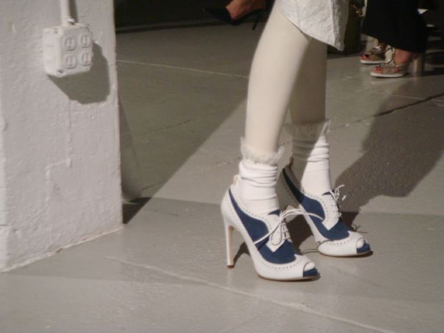 Daily Shoe-Thom Browne spring 2014 show by Lauren David Peden:The Fashion Informer