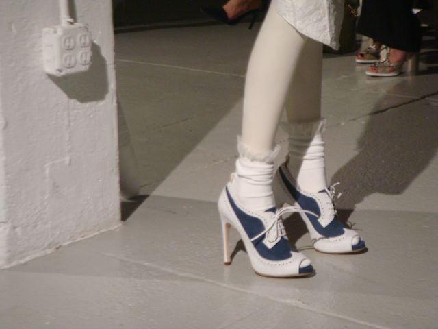 Daily Shoe-Thom Browne spring 2014 show by Lauren David Peden:The Fashion Informer