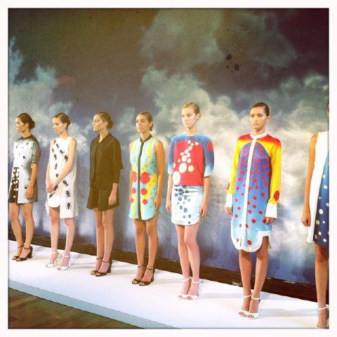 4. Azede Jean-Pierre spring 2014 Hipstamatic by Lauren David Peden:The Fashion Informer