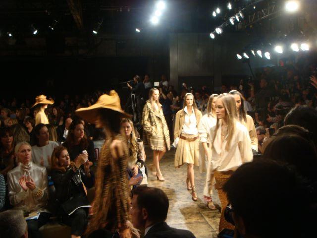 8. Donna Karan spring 2014 finale by Lauren David Peden:The Fashion Informer