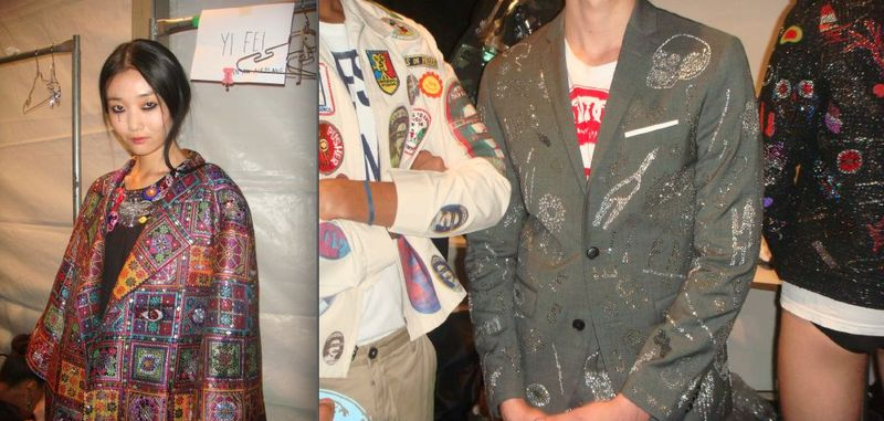 15. Libertine spring 2014 backstage details by Lauren David Peden:The Fashion Informer
