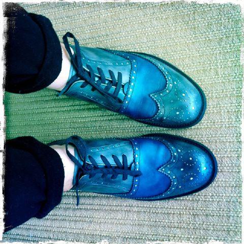 21. George Esquivel shoes by Lauren David Peden:The Fashion Informer