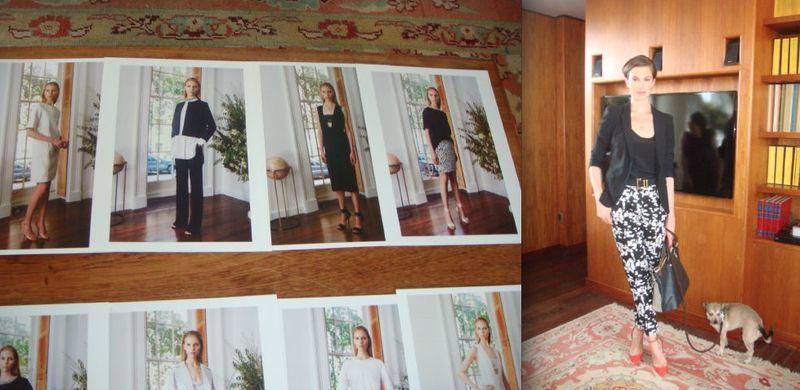 6. Adam Lippes spring 2014 looks and Elettra Wiedemann by Lauren David Peden:The Fashion Informer