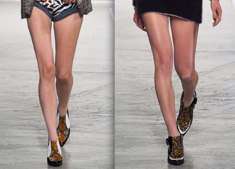 Rodarte spring 2014 shoes on The Fashion Informer