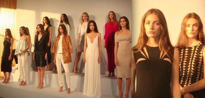 6. Nellie Partow spring 2014 by Lauren David Peden:The Fashion Informer