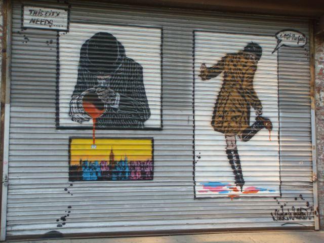 11. MPD grafitti by Lauren David Peden:The Fashion Informer