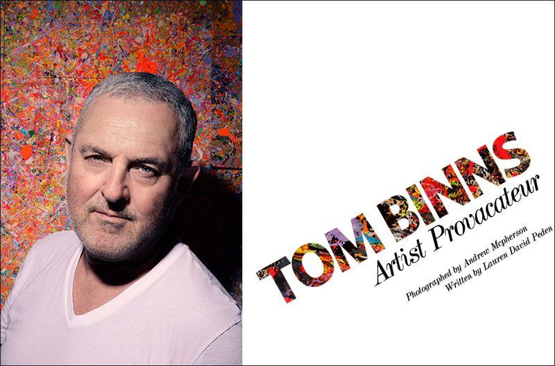 Edtorialist Tom Binns cover by Lauren Dvid Peden