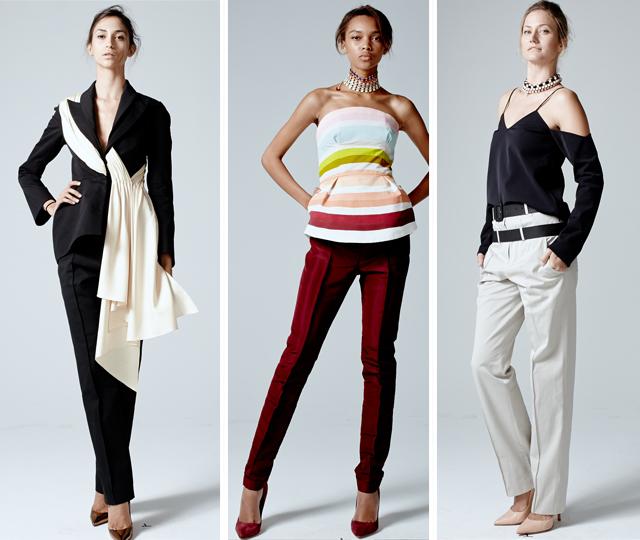 Rosie Assoulin 3 on The Fashion Informer:graphic by KSarna