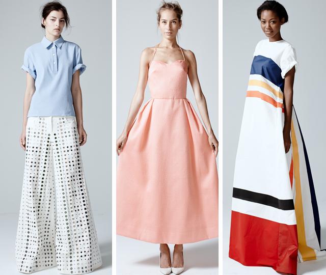 Rosie Assoulin 2 on The Fashion Informer:graphic by KSarna