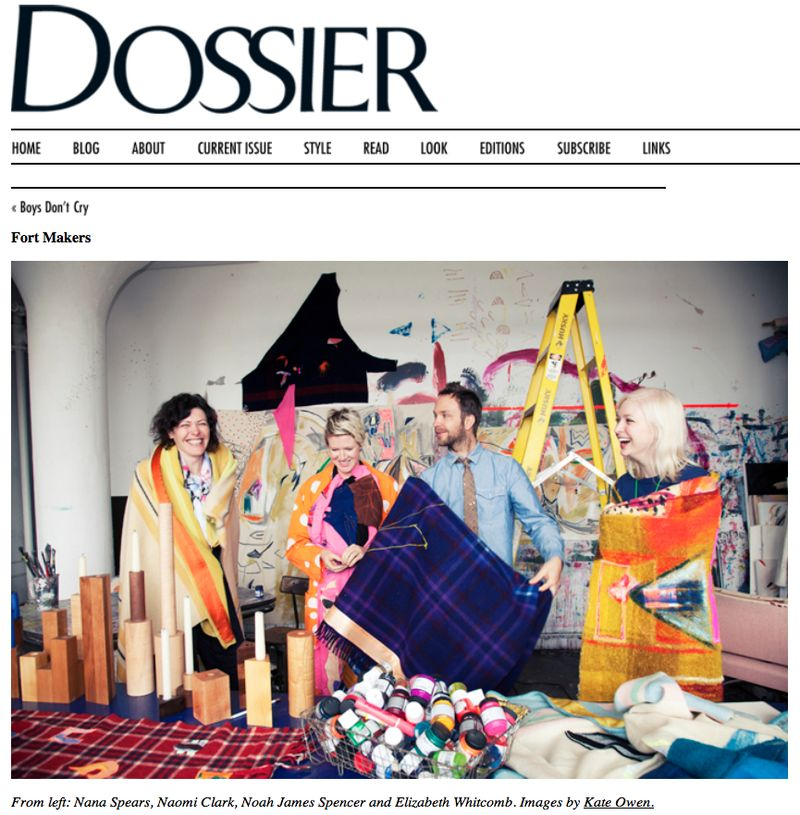 TFI:Lauren David Peden on Dossier-Fort Makers