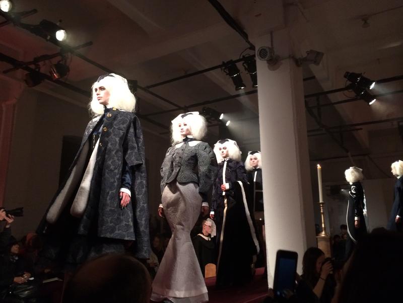 7. Thom Browne fall 2014 runway finale 1 by Lauren David Peden:The Fashion Informer