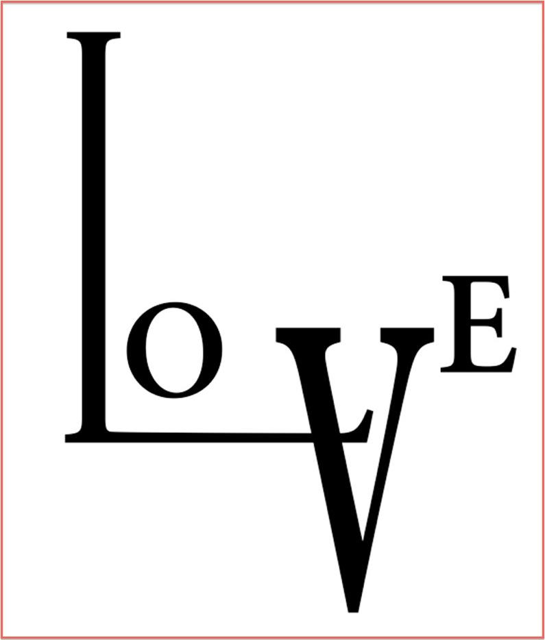 LOVE on The Fashion Informer