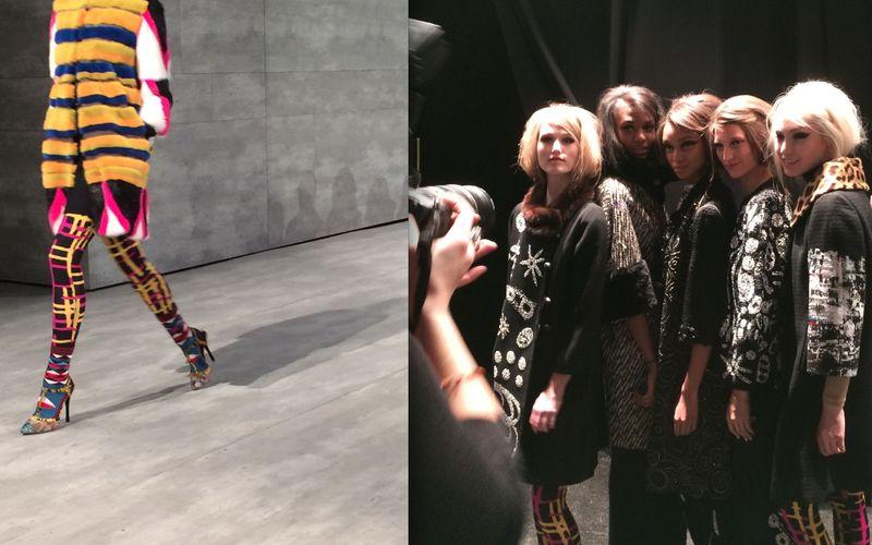 1. Libertine fall 2014 runway:backstage by Lauren David Peden:He Fashion Informer