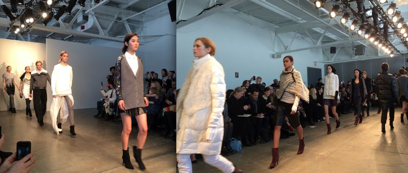 2. Tess Giberson fall 2014 runway by Lauren David Peden:The Fashion Informer