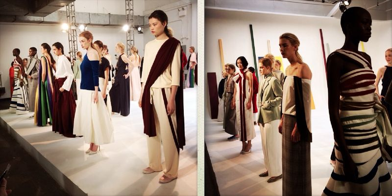 5. Rosie Assolin fall 2014 presentation by Lauren David Peden:The Fashion Informer