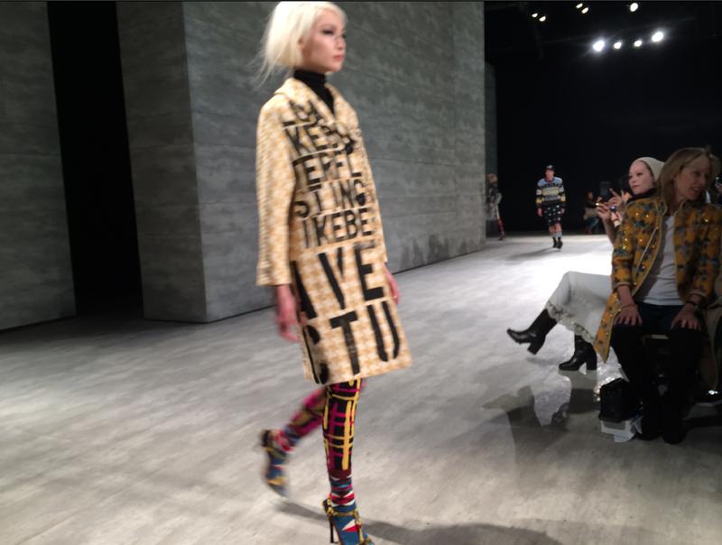 10. Libertine fall 2014 runway 2 by Lauren David Peden:The Fashion Informer