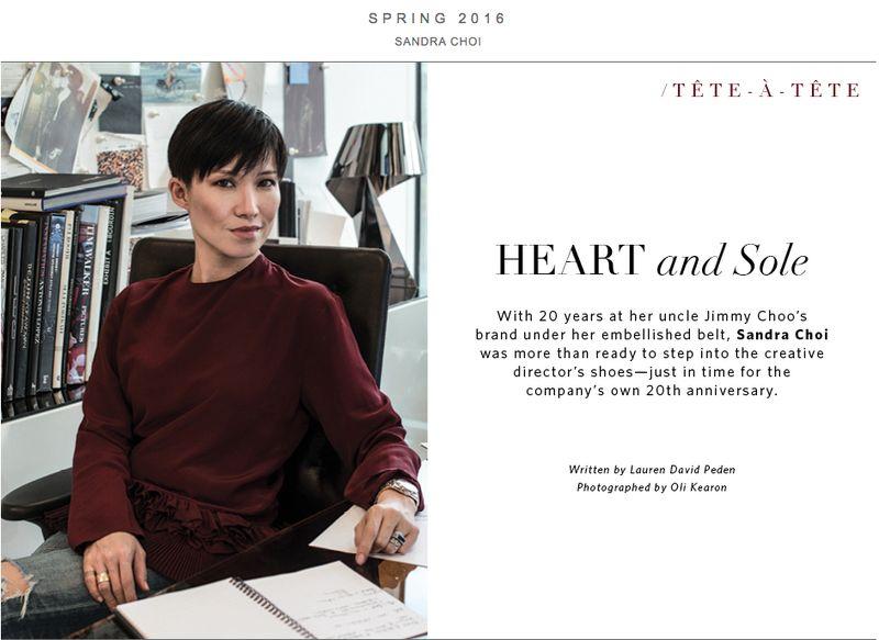 Sandra Choi - The Editorialist by LDP