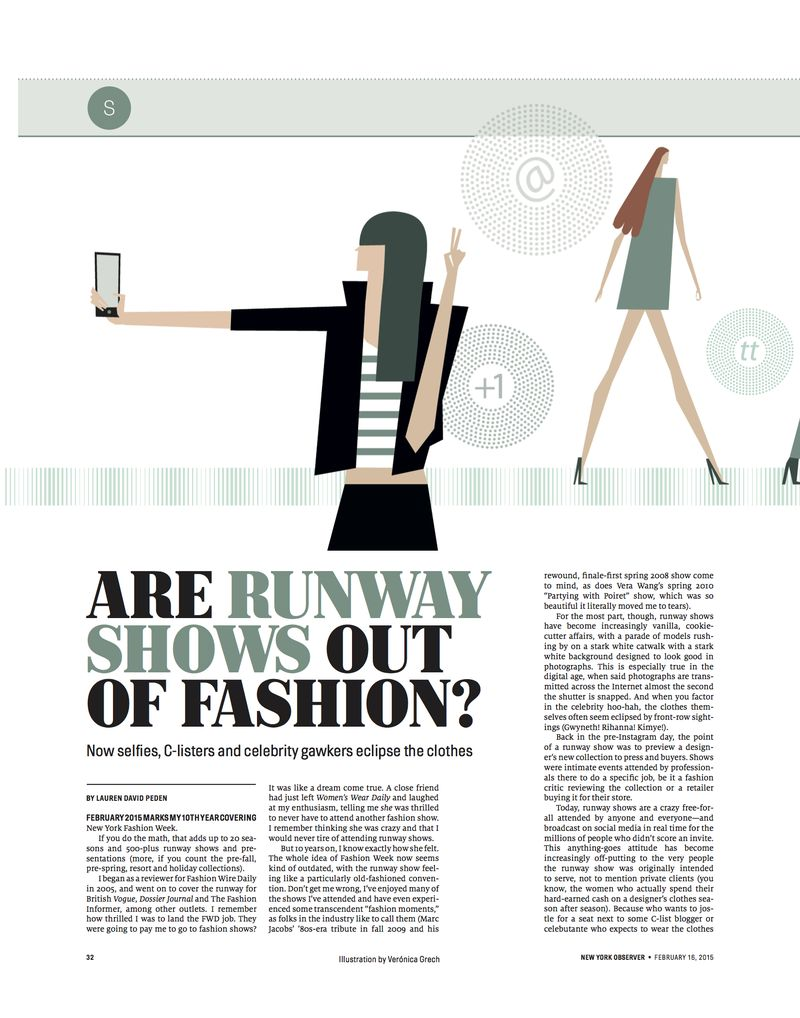 The Fashion Informer on the New York Observer.1