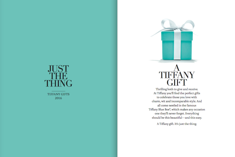 Just the Thing  Tiffany Gifts  Lauren David Peden