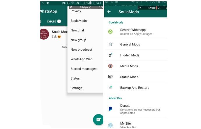 Fitur Whatsapp Clone APK Mod Terbaru